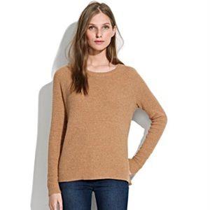 Madewell Leafstitch Knit Crewneck Sweater Size S